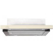 Кухонная вытяжка ELIKOR Интегра GLASS 60Н-400-В2Д нерж/стекло бежевое