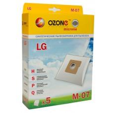 Пылесборники Ozone micron M-07 для пылесосов LG